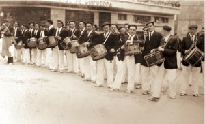 Goyito Arocena, Mancisidor, Patxi Gamón, Ausan, Recarte, C. Barguín, J. M. Estomba, Urquiola, Montserrat, Fdez. de Casadevante