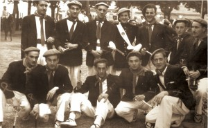 Cantinera: Mayi Muñoz Narvarte Sargento: Vicente Urtizberea Entre otros: P. Docampo, F. Marcos, J. L. iriarte, B. Merino, Gallego