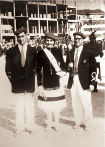 Ramon Martinez, Mª Carmen Lecuona y Ricardo Rodriguez
